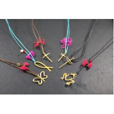 Simple Colourful Necklaces